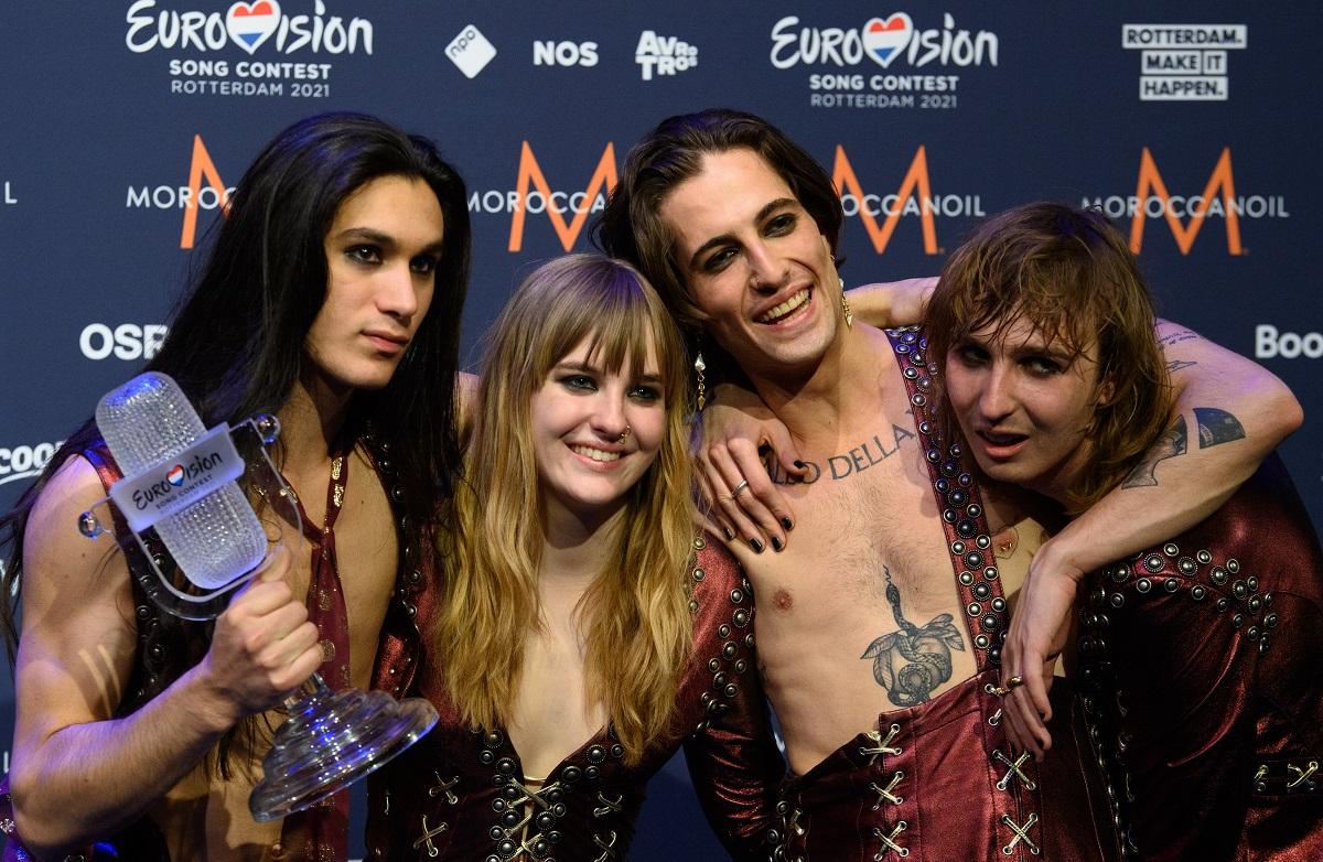 maneskin ganando eurovision