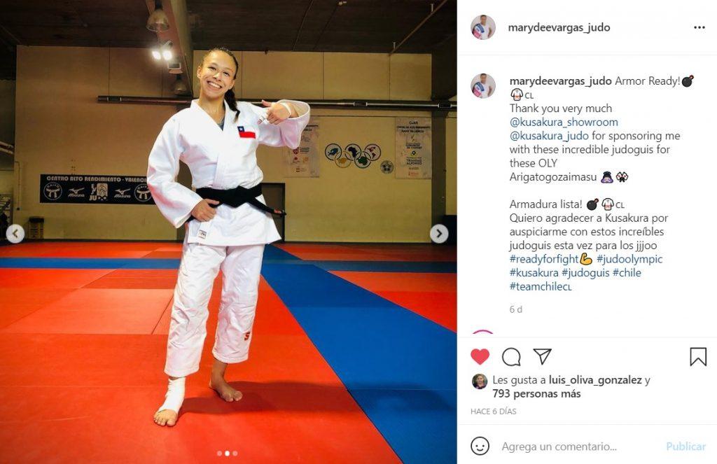 Mary Dee Varga Judo