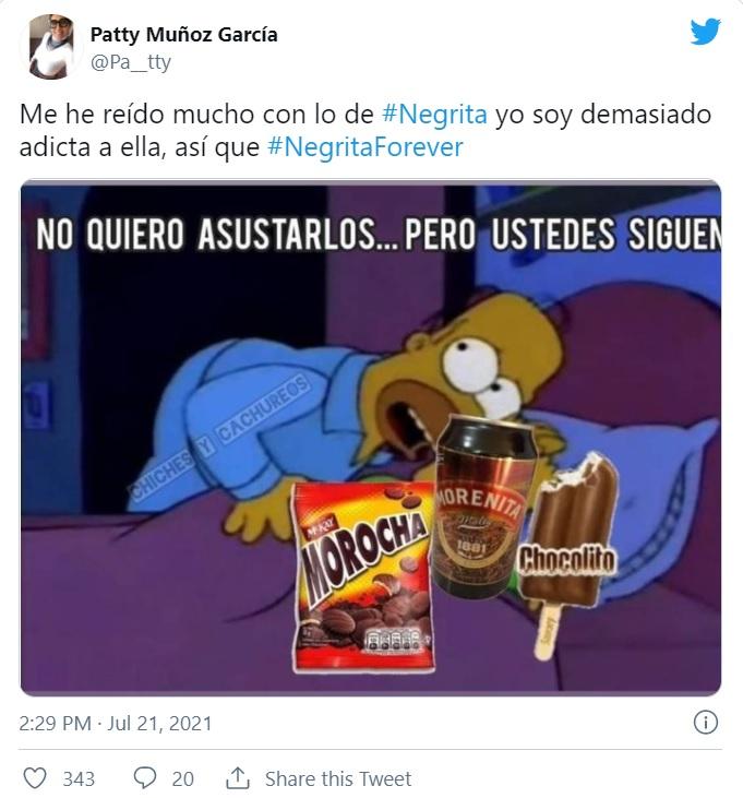 Meme Principal Cambio De Negrita En Chokita