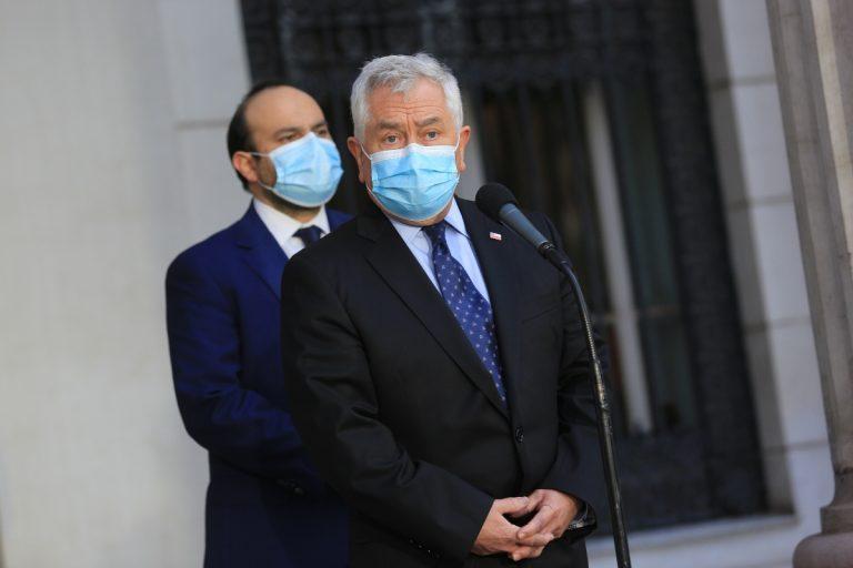 Ministro París Stock Vacunas