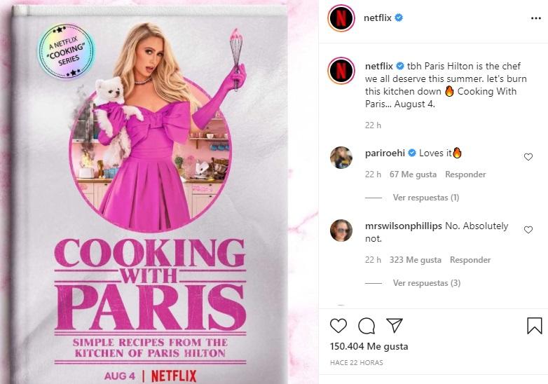 Paris Hilton tendrá programa de cocina