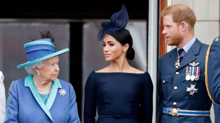 Reina Isabel Príncipe Harry Y Meghan Markle