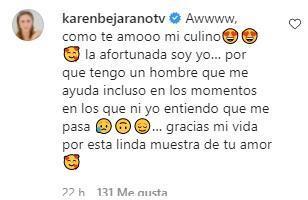 Respuesta De Karen Paola Al Mensaje De Juan Pedro