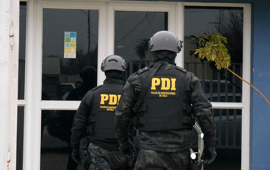 Acusación de montaje de la PDI