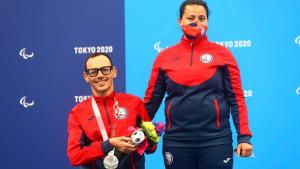 Alberto Abarza Medalla De Plata Tokio 2020