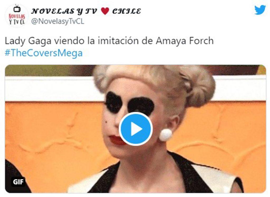Amaya Forch como Lady Gaga