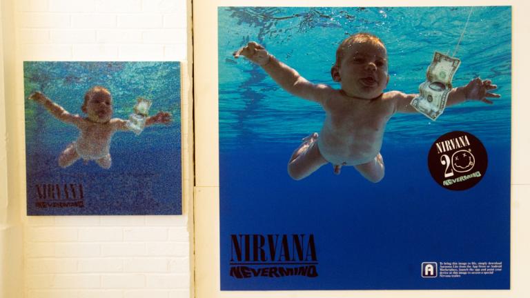 Bebé De La Portada De Nevermind Banda De Rock Nirvana
