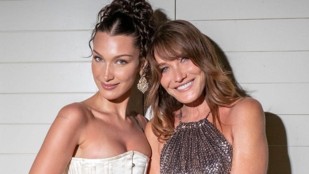 Bella Hadid Y Carla Bruni