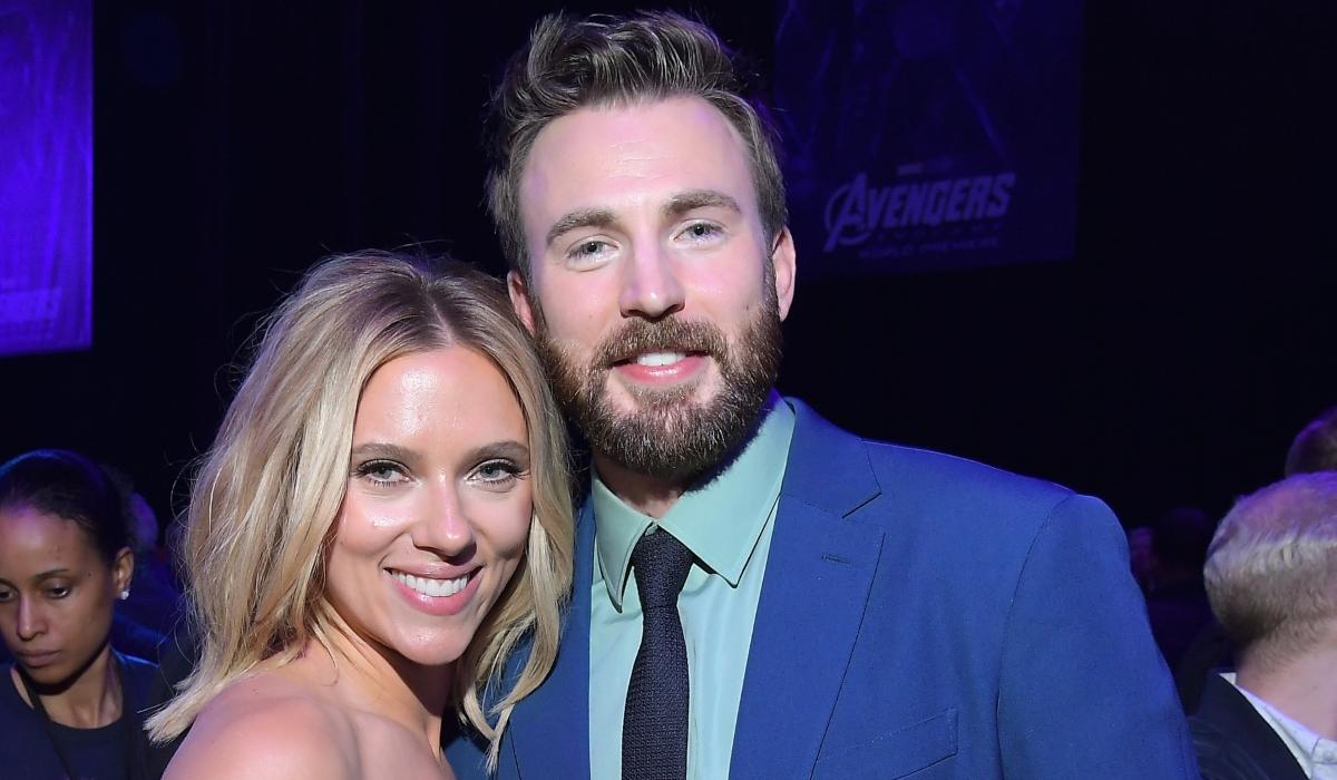 Chris Evans Scarlett Johansson