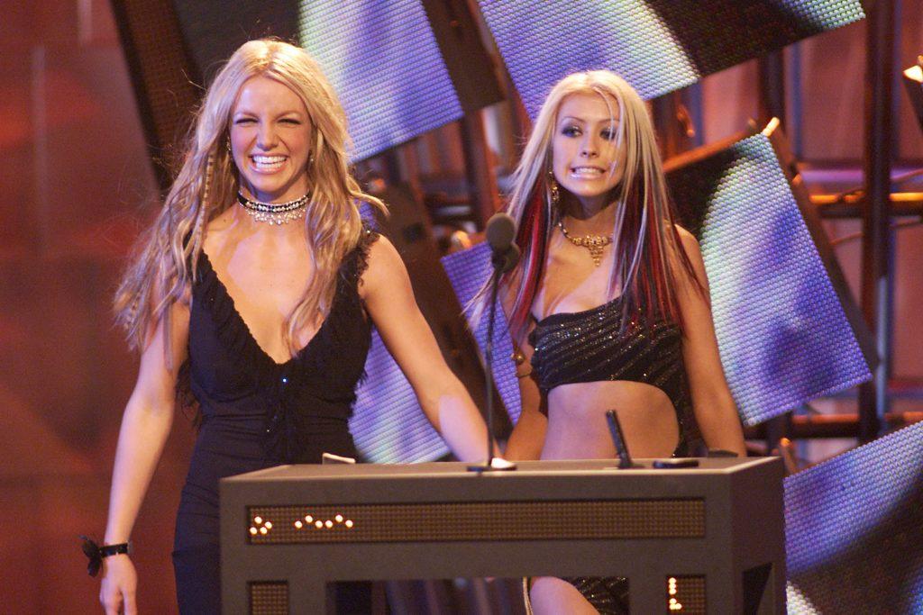 Christina y su amiga Britney