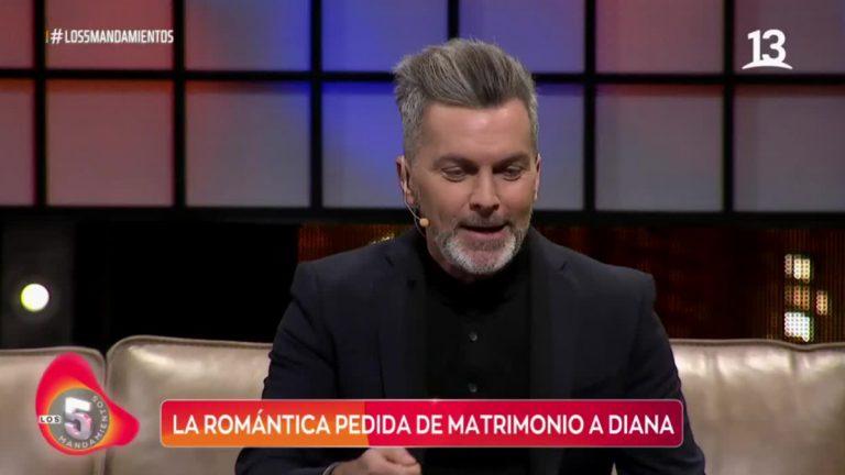 Cristián Sánchez Y Su Propuesta De Matrimonio A Diana Bolocco