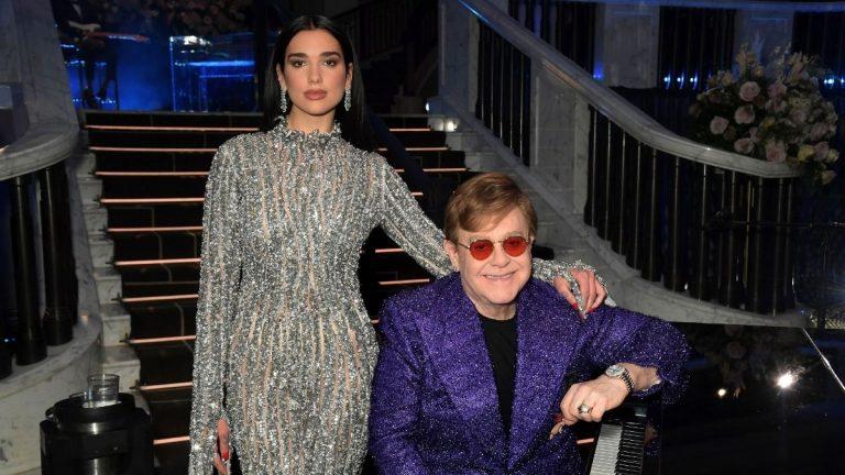 Dua Lipa Y Elton John Lanzarán Una Nueva Canción
