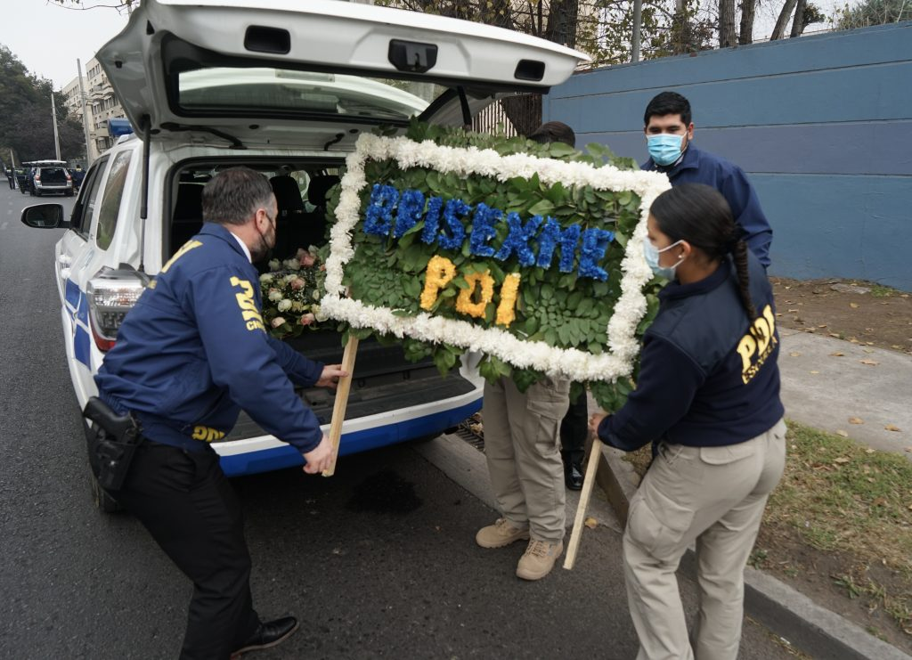 Funeral caso crimen joven PDI Valeria Vivanco