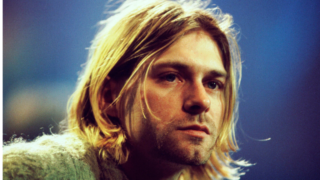 Kurt Cobain Bebé Nevermind