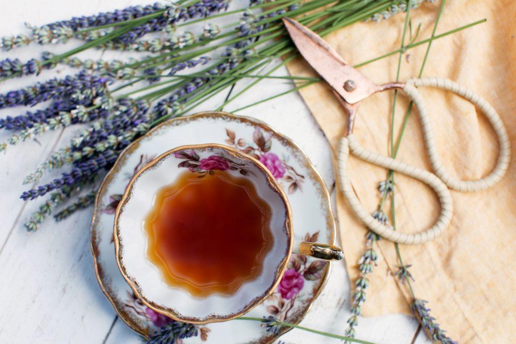 Lavanda hierba medicinal