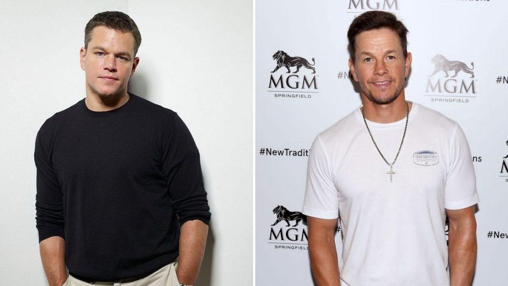 Matt Damon Y Mark Wahlberg