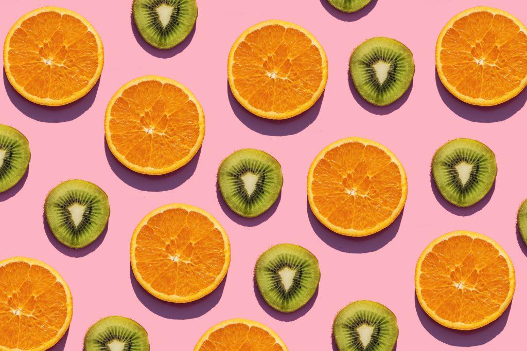 Naranja y Kiwi superalimentos
