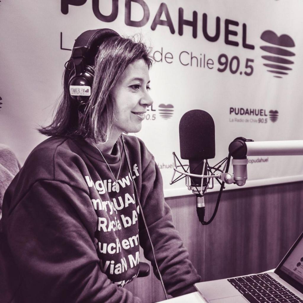 Periodista Daniela Aguilera