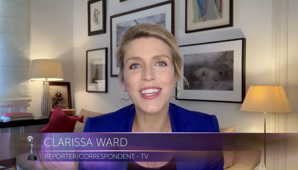 Periodista de CNN CLarissa Ward
