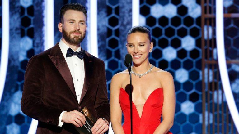 Scarlett Johansson Chris Evans