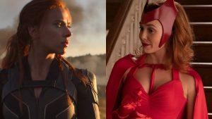 Scarlett Johansson Y Elizabeth Olsen