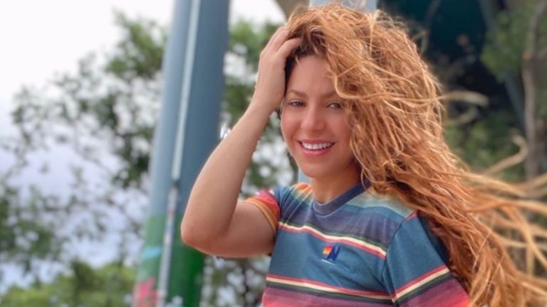Shakira mostró su auto