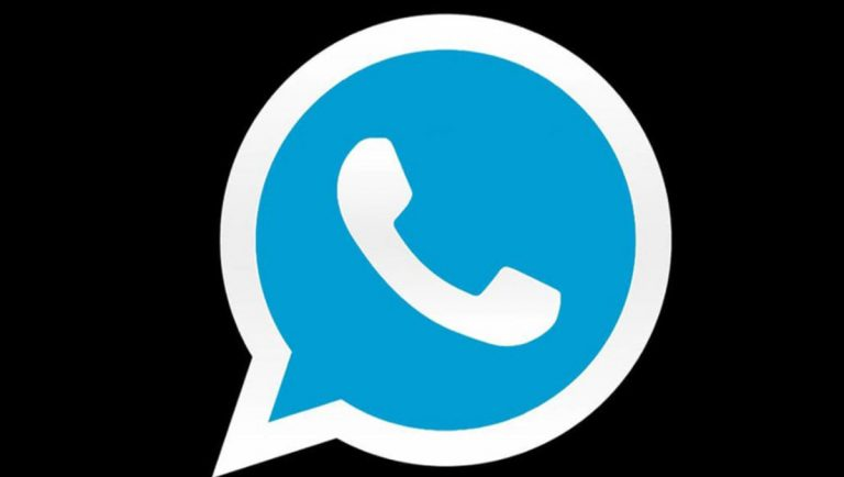 WhatsApp Logo Azul