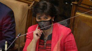 Yasna Provoste Renuncia Al Senado