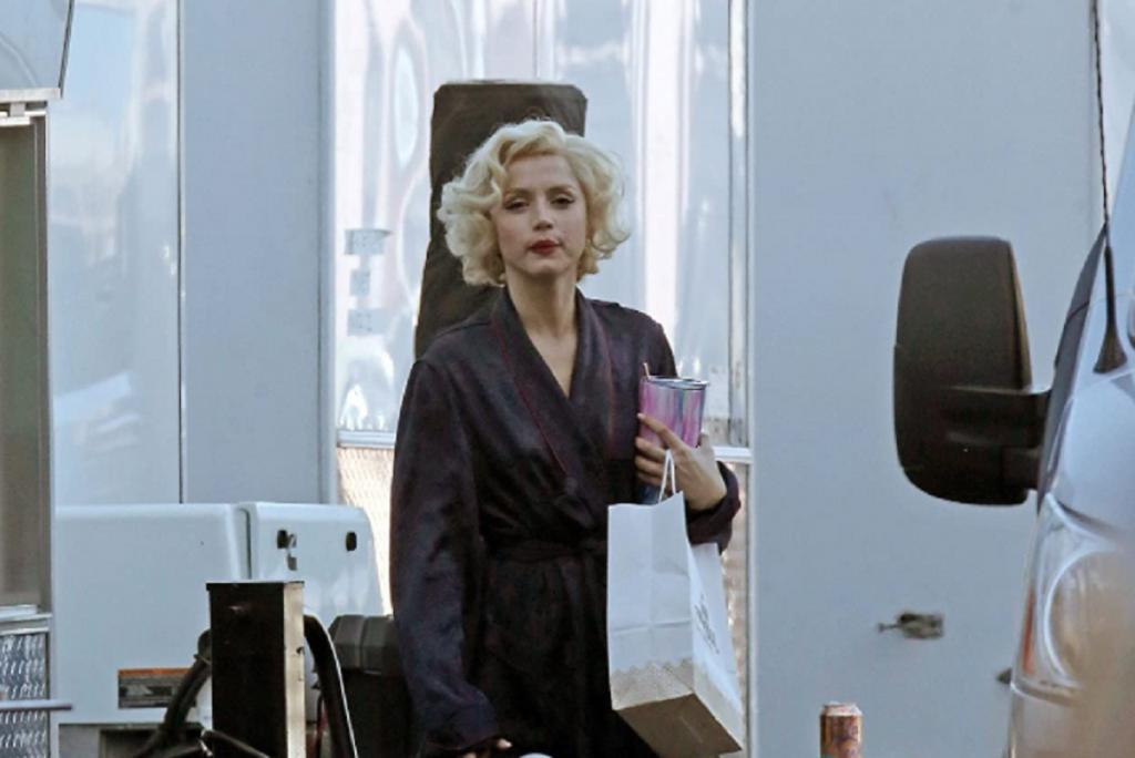 Ana De Armas Blonde