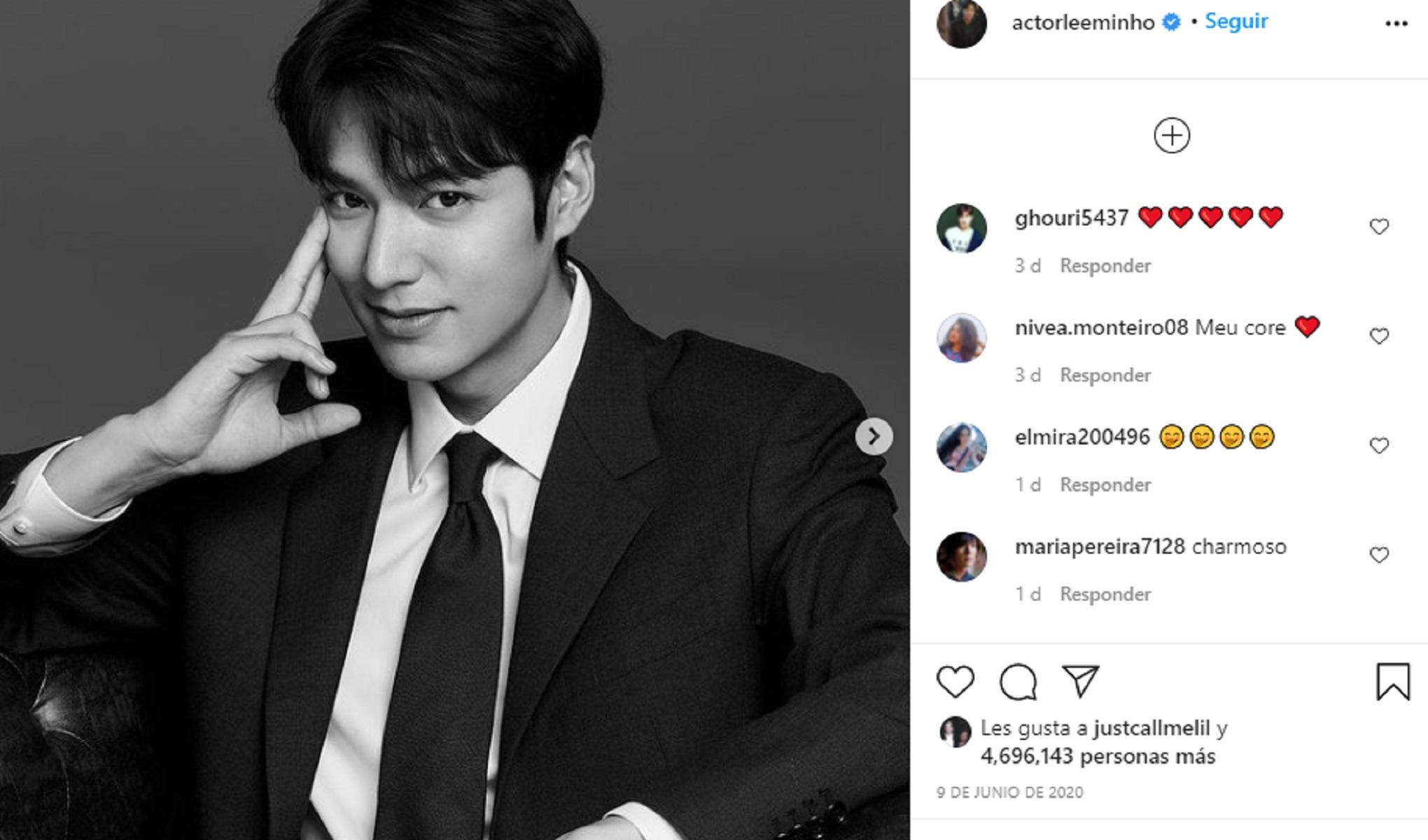 Lee Minho Uno De Los Galanes Coreanos De Las Series De Netflix