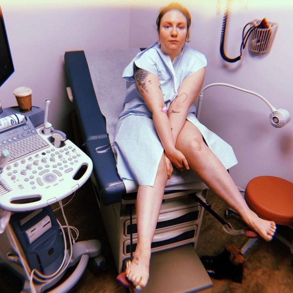 Lena Dunham Endometriosis