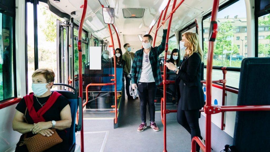 Mascarillas Transporte Publico