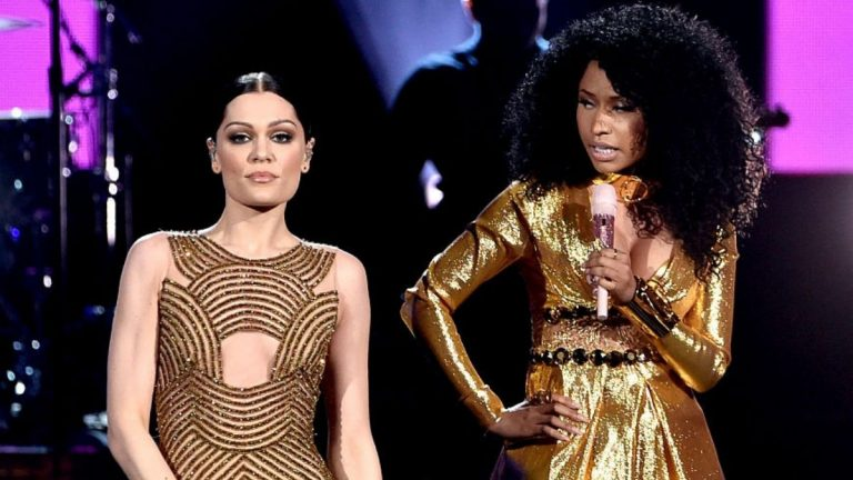Nicki Minaj Y Jessie J Pelea