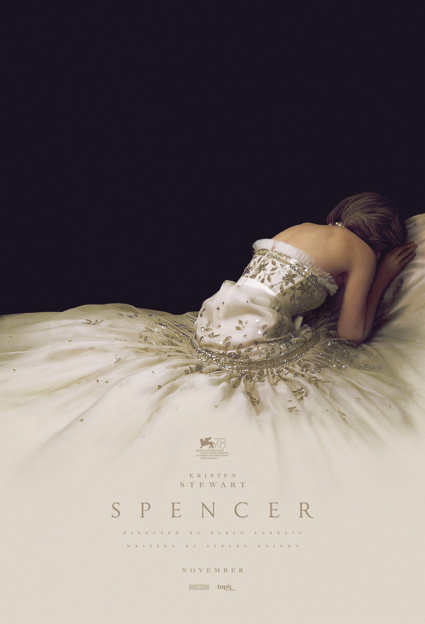 Poster De Spencer Con Kristen Stewart Como Lady Di