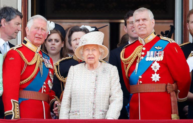 príncipe Carlos príncipe Andrés