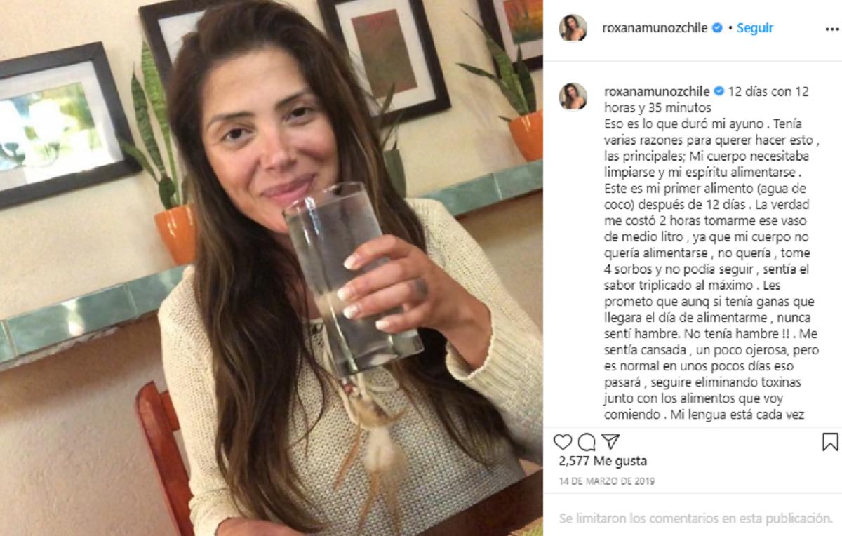 Roxana Muñoz Ayuno