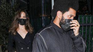 Angelina Jolie Y The Weeknd
