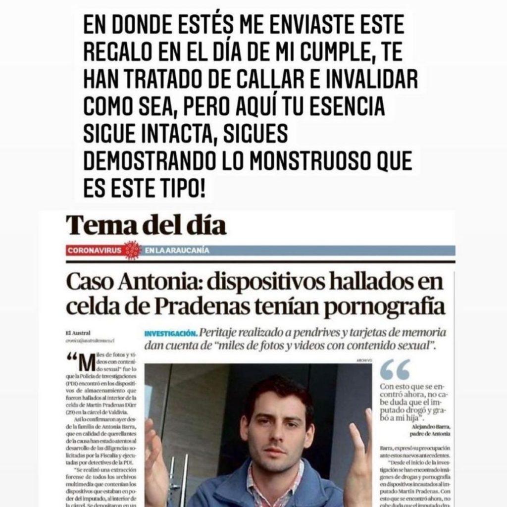 Carla Barra Sobre Pradenas