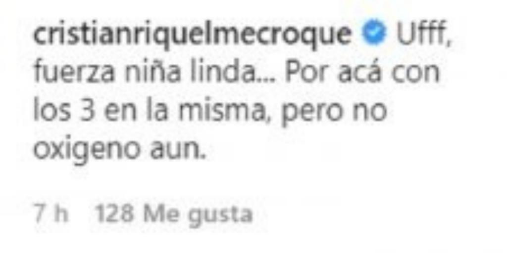 Cristian Riquelme Cometario