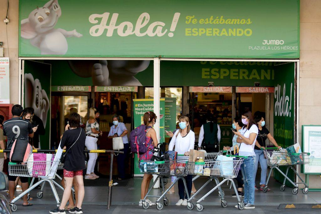 Hora de cierre supermercados