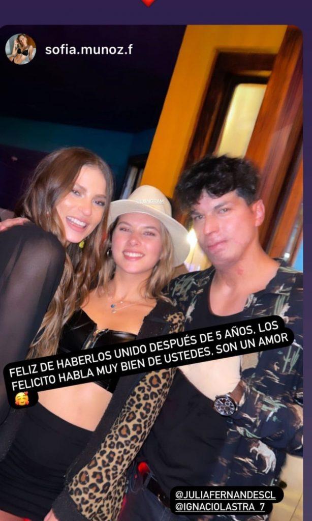 Ignacio Lastra Y Julia Fernández Se Reencontraron