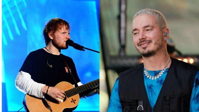 J Balvin Amistad Y Colaboración Con Ed Sheeran