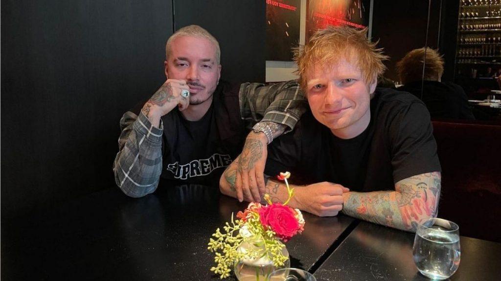 J Balvin Junto A Ed Sheeran Colaboración