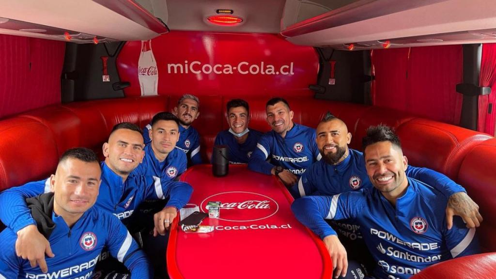 Jugadores Selección Chile Vs Brasil