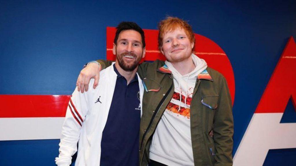 Messi Y Ed Sheeran