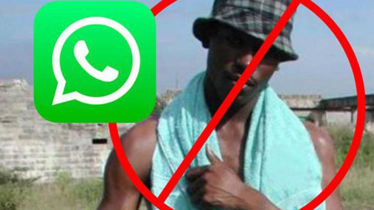 Negro De WhatsApp