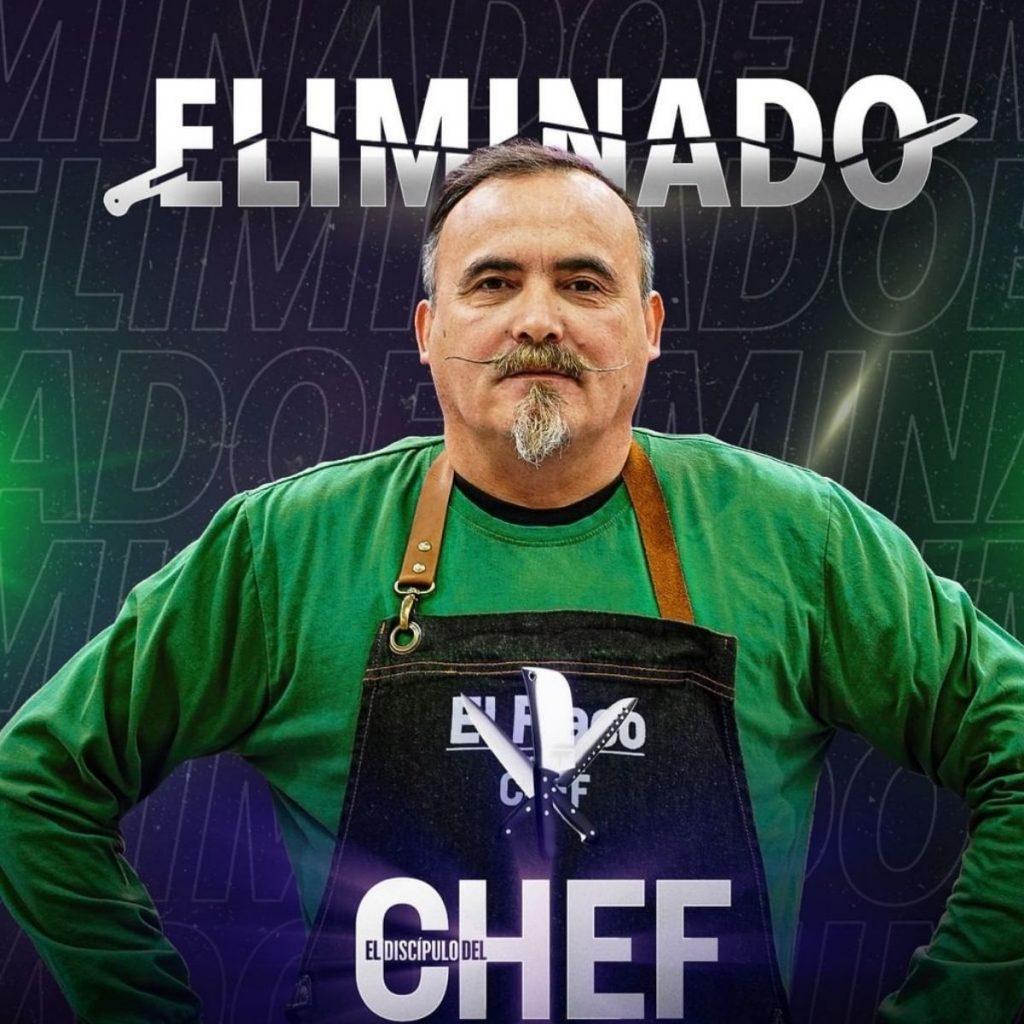 Paul El Flaco Nuevo Eliminado Por Ennio Carota El Discípulo Del Chef