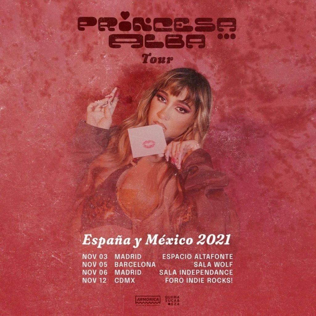 Princesa Alba Gira Internacional España Y México