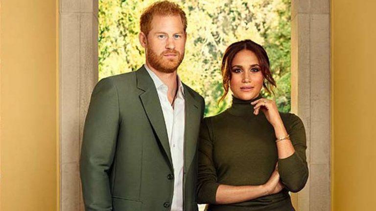 Príncipe Harry Y Meghan Markle Para TIME