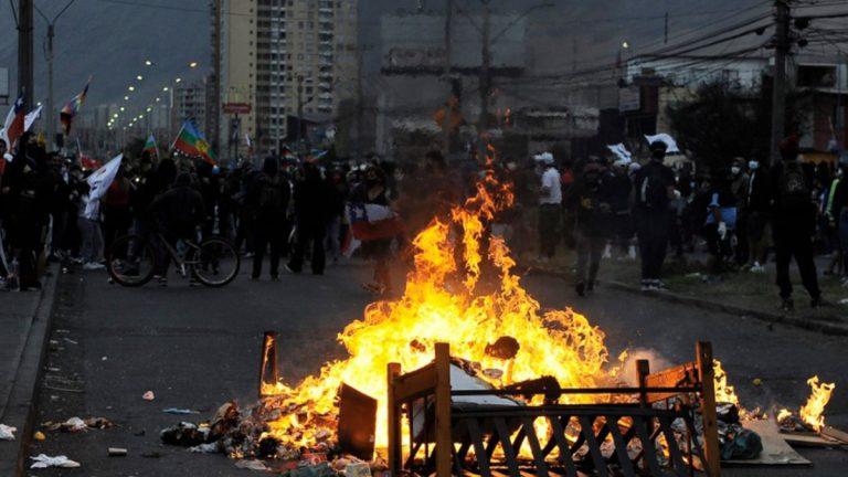 Protestas En Iquique